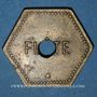 Münzen Saulnes (54). Coopérative de Saulnes. Flûte. Perforé