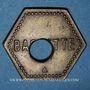 Münzen Saulnes (54). Union Coopérative. Baguette. Perforé