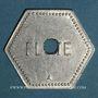 Münzen Saulnes (54). Union Coopérative. Flûte. Perforé