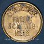 Münzen Schiltigheim (67). Conservenfabrik (fabrique de conserves). 10 pfennig, type 2