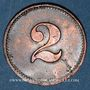 Münzen Schiltigheim (67). Conservenfabrik (fabrique de conserves). 2 pfennig, type 2