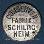 Münzen Schiltigheim (67). Conservenfabrik (fabrique de conserves). 4 pfennig, type 2