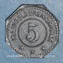 Münzen Sélestat (67). 5 (pfennig) 1917