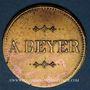 Münzen Strasbourg (67). A. Beyer (aubergiste, 1872-90). 1/2 litre