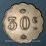 Münzen Strasbourg (67). Albert Schmidt. 30 cmes. Inédit !