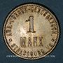 Münzen Strasbourg (67). Arb. Consum Genossenschaft. 1 mark