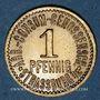 Münzen Strasbourg (67). Arb. Consum Genossenschaft. 1 pfennig