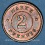 Münzen Strasbourg (67). Arb. Consum Genossenschaft. 2 pfennig