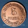 Münzen Strasbourg (67). Arb. Consum Genossenschaft. 5 pfennig