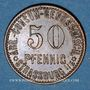 Münzen Strasbourg (67). Arb. Consum Genossenschaft. 50 pfennig