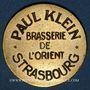 Münzen Strasbourg (67). Brasserie de l'Orient - Paul Klein. 50 centimes