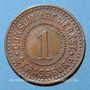 Münzen Strasbourg (67). Consum-Genossenschaft Artillerie Werkstadt. 1 (pfennig)