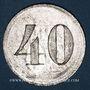 Münzen Strasbourg (67). Donon. 40 pfennig n. d.
