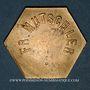 Münzen Strasbourg (67). Fr. Mutschler (restaurant Grande Taverne Vignette). 25 centimes