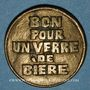 Münzen Strasbourg (67). Société de tir. 1 verre de bière