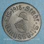 Münzen Strasbourg (67). Ville.  5 pfennig 1918. Fer