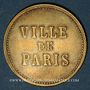 Münzen Strasbourg (67). Ville de Paris - J. Burger. sans valeur