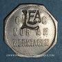 Münzen Thionville (57). Lothringische Eisenbahn Aktiengesellschaft. (10 pf). LE.A contremarqué