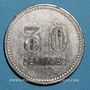 Münzen Toulon (83). Café du Centre - J. B. 30 centimes