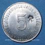 Münzen Unieux (42). Etablissements Jacob Holtzer. 5 centimes, contremarque cloche