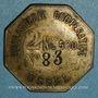 Münzen Ussel (19). Boulangerie Coopérative d'Ussel. 2 kg 500. Laiton