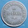 Münzen Versailles (78). 1er Génie, Mess des Sous Officiers. 50 centimes