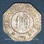 Münzen Wissembourg (67). Ville. 10 pfennig 1917. Fer