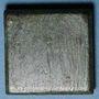 Münzen Byzance. Poids monétaire de 1 once. 5e-7e siècle