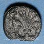 Münzen Espagne. Aragon. Poids monétaire du florin catalan. Fabrication française XIVe siècle