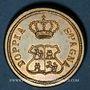 Münzen Espagne. Poids monétaire du 8 escudos. Fabrication italienne
