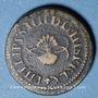 Münzen Espagne. Poids monétaire du double réal de Philippe IV (1621-1665)