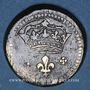 Münzen Louis XIV (1643-1715). Poids monétaire du double louis