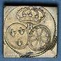 Münzen Louis XV (1715-1774) et Louis XVI (1774-1793). Poids monétaire du louis aux lunettes et au bandeau