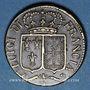 Münzen Louis XVI (1774-1793). Poids monétaire du louis d'or neuf aux écus