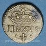 Münzen Poids monétaire du demi-louis, à partir de Louis XIII (1610-1643)