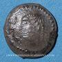 Münzen Arabie Heureuse. Les Himyarites. Amdan Bayyan Yuhaqbid (vers 100-120). 1/2 denier léger. Raidan