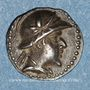 Münzen Bactriane. Eucratides I (171-145 av. J-C). Obole