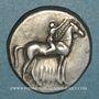 Münzen Calabre. Tarente. Didrachme, vers 302-230 av. J-C