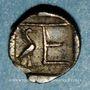 Münzen Ionie. Colophon, vers 450-410 av. J-C. Tétartemorion