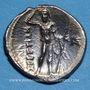 Münzen Italie. Bruttium. Les Bruttiens. Drachme, 282-203 av. J-C