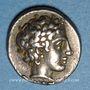 Münzen Macédoine. Olynthe. Ligue chalcidienne, vers 432-348 av. J-C. Tétrobole