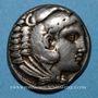 Münzen Roy de Macédoine. Alexandre III le Grand (336-323 av. J-C). Tétradrachme. Amphipolis 318-317 av. J-C