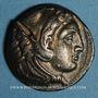 Münzen Roy. de Macédoine. Alexandre III le Grand (336-323 av. J-C) Tétradrachme Amphipolis, 332-326 av J-C