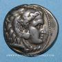 Münzen Roy de Macédoine. Alexandre III le Grand (336-323 av. J-C). Tétradrachme. Sardes. 319-315 av. J-C