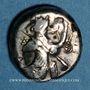 Münzen Royaume de Lydie. Dynastes achéménides. Sicle, vers 485-420 av. J-C