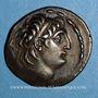 Münzen Royaume de Syrie. Antiochus VII Evergète Sidètes (138-129 av. J-C). Tétradrachme. Damas