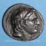 Münzen Royaume de Syrie. Démetrius I Soter. Tétradrachme. Antioche sur l'Oronte, 153/2 av. J-C