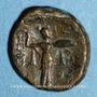 Münzen Royaume de Syrie. Séleucus I Nicator (312-280 av. J-C). Bronze. Antioche, vers 360-281