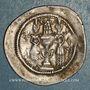 Münzen Royaume sassanide. Chosroès I (531-579). Drachme type II /2, an 20 (?). ML = Merv