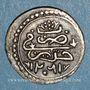 Münzen Algérie. Ottomans. Abdoul Hamid (1187-1203H). 1/8 de boudjou 1202H. Alger